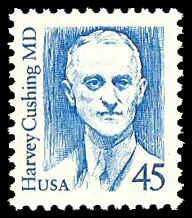 PCBstamps  US #2188 45c Dr. Harvey Cushing, bright blue, MNH, (7)