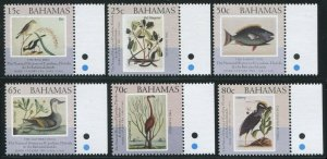 Bahamas 2002 Sc 1047-1052 Catesby Birds Fish CV $11