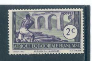French Equatorial Africa 34  MHR