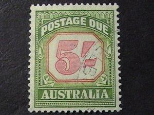 AUSTRALIA # J83-USED---POSTAGE DUE---1953-54