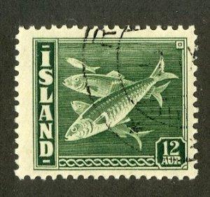 ICELAND 223 USED BIN $.90  .