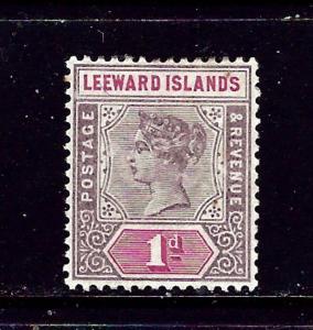 Leeward Is #2 MH 1890 issue