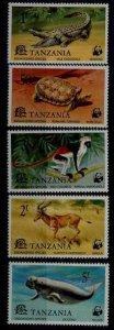 Tanzania 82-86 MNH WWF-77 SCV29