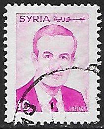 Syria # 1367 - President Assad - used.....{Gn16}