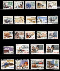 PORTUGAL Scott 1360-1379 MNH** Complete set of 22 +1 variety