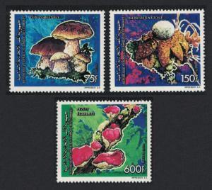 Comoro Is. Fungi 3v SG#789=794 SC#776-778