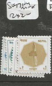 Nepal SG 471-4 MNH (1cxw)
