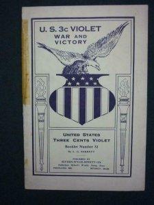 U.S. 3C VIOLET - WAR AND VICTORY by L G BARRETT