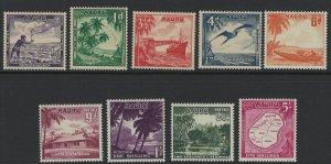 Nauru Scott 39-47 MNH! Complete Set!