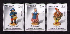 MONACO Sc# 1838 - 1840 MNH FVF Set3 Christmas '84 Drummer