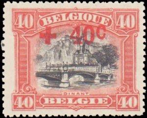 Belgium #B42, Incomplete Set, 1918, Hinged