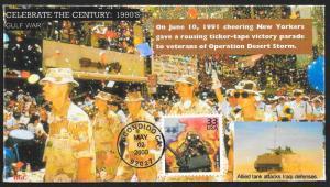 UNITED STATES FDC 33¢ Gulf War Celebrate the Century 2000 BGC