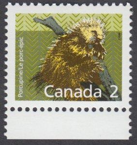 Canada - #1156 Porcupine - MNH