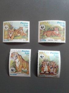 Laos 517-520 VF MNH. Scott $ 14.00