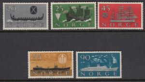 Norway 382-6 Ships mnh