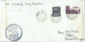 71681 -  Postal History - Graft ZEPPELIN  FLIGHT cover:  RHODES Egeo  1933
