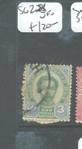 MALAYA KEDAH  (PP2607B) THAILAND USED IN SG Z28  VFU