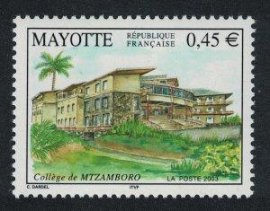 Mayotte Mtzamboro College 1v SG#183