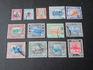 Sudan 1951 Sc 102-114 FU