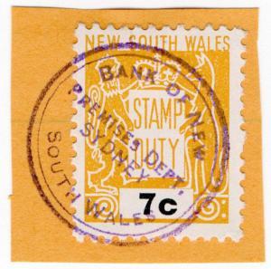 (I.B) Australia - NSW Revenue : Stamp Duty 7c