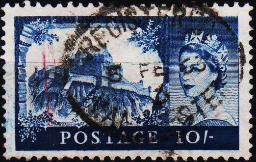 Great Britain 1959 10s S.G.597 Fine Used