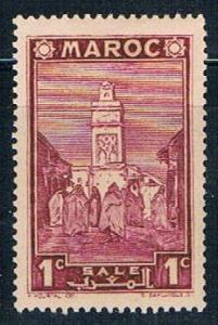 French Morocco 149 MLH Mosque 1939 (F0130)+