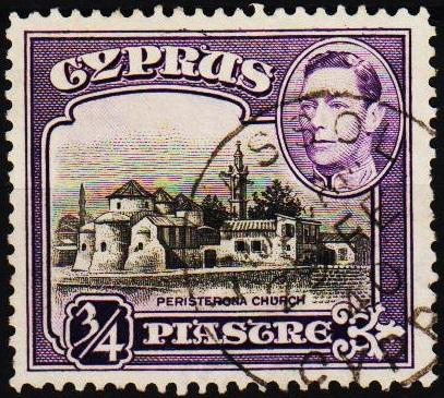 Cyprus. 1938 3/4pi S.G.153 Fine Used