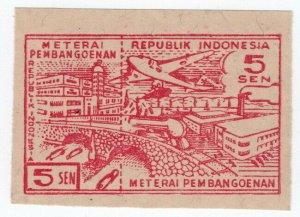 (I.B) Indonesia Revenue : Restaurant Tax 25s (Meterai Pembangoenan)