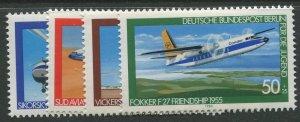 STAMP STATION PERTH Germany #9NB164-167 Aviation Type 1980- Set - MNH