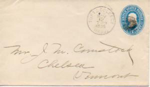 United States Massachusetts Tufts College 1895 cork killer  1890-1907  Postal...