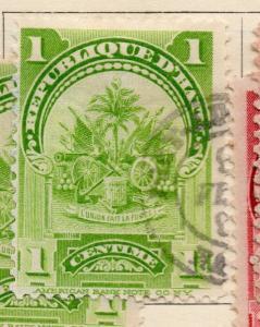 Hayti 1898-1900 Early Issue Fine Used 1c. 234525