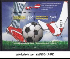 BOSNIA HERZEGOVINA - 2008 EUROPEAN FOOTBALL CHAMPIONSHIP MIN/SHT MNH