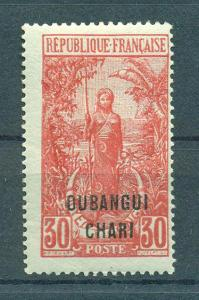 Ubangi-Shari sc# 31 mh cat value $2.75