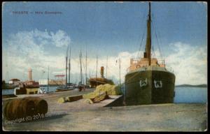 Austria WWI Pola KuK Seebataillon KuK Marine Feldpost Cancel Cover 64052