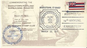 United Nations Show Cancels MIDPEX Middletown, CT Shipbuilding 1977