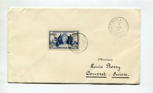 Guadeloupe #154 - Colonies issue, ON COVER to Switzerland  cv$125.00