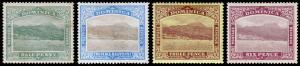 Dominica Scott 35, 38, 40, 42 (1907-09) Mint H F-VF, CV $36.75 M