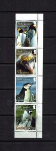 South Georgia:  2010, South Georgia Penguins.    MNH set