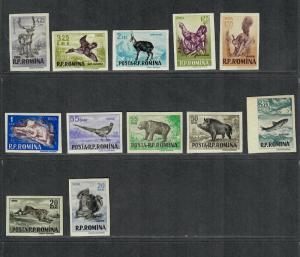 Romania, See Note After Sc#1093 M/NH/VF, Complete Imperf Set, Cv. $50