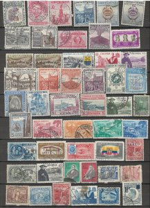 COLLECTION LOT # 42L COLOMBIA 102 STAMPS CLEARANCE