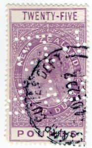 (I.B) New Zealand Revenue : Stamp Duty £25
