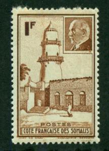 Somali Coast 1941 #181 MH SCV(2018)=$0.80