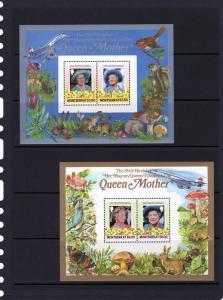 Montserrat Queen Mother/Concorde/Mushrooms 2 SS Perf.563/64
