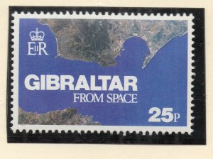 Gibraltar 1978 QEII Early Issue Fine Mint Unmounted 25p. NW-99270