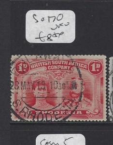 RHODESIA (P0109B) DOUBLE HEAD 1D SG   170     VFU