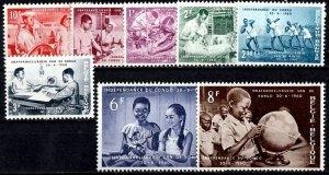 Belgium 1961 S.G. 1732-1739  MNH (1350)