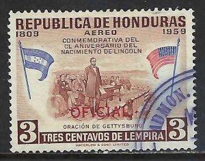 Honduras CO100 VFU E811-1