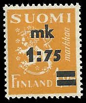 Finland - 221 - Unused - SCV-4.00