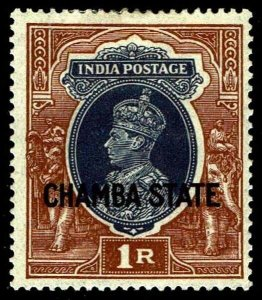 1938- India Chamba  #82 - OGHR - VF - CV$45.00  (ESP#4383)