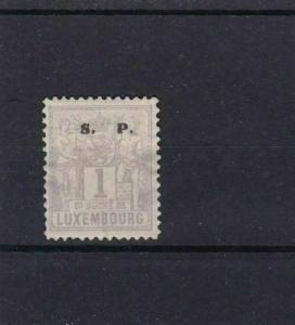 LUXEMBOURG OFFICIAL MOUNTED MINT S.P. OVERPRINT  REF 4238